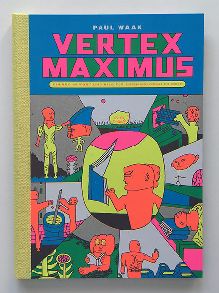"""Vertex Maximus"" silkscreen book 150 €"